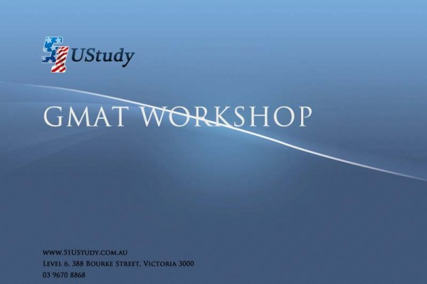 51UStudy GMAT Workshop