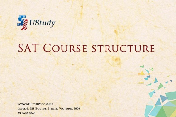 51UStudy SAT Course Structure