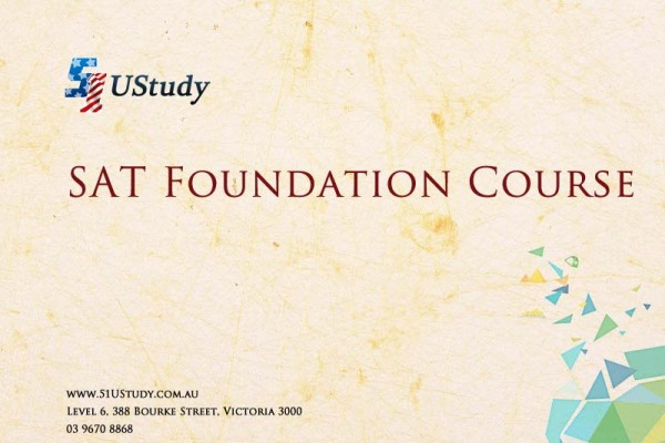 51UStudy SAT Foundation Course