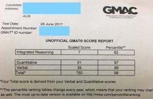 GMAT高分 by 51UStudy - 750