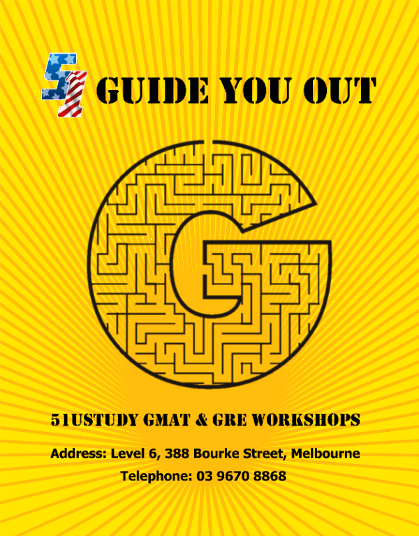 51UStudy Workshop - 准备GRE