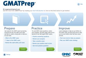 准备GMAT - GMAT Prep 界面