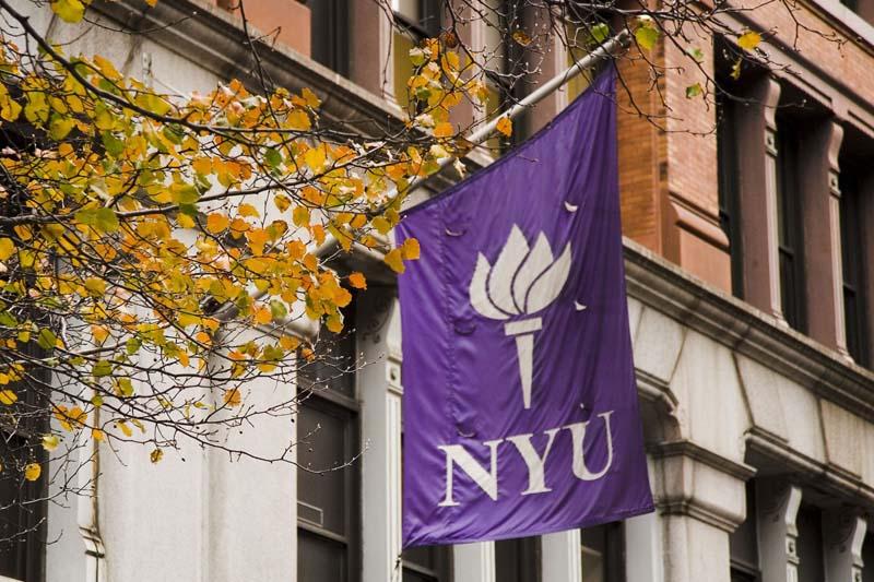 在纽约大学的一天