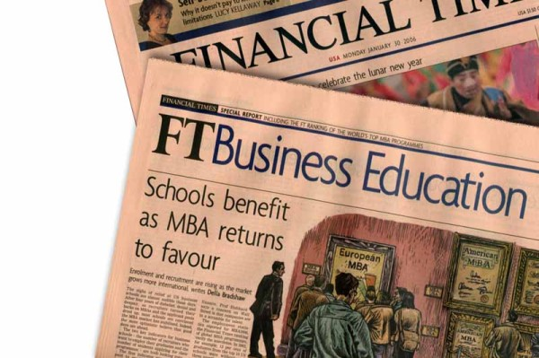 Financial Times 2013 Global MBA Rankings