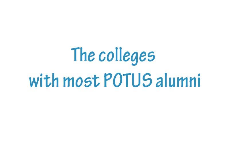 拥有总统校友最多的美国名校