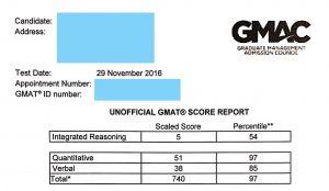 GMAT高分 by 51UStudy - 740